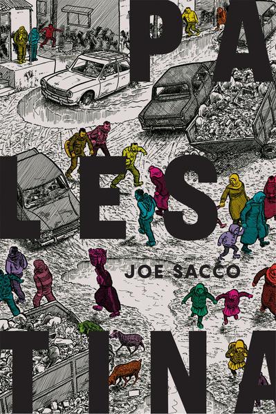Palestina, livro de Joe Sacco