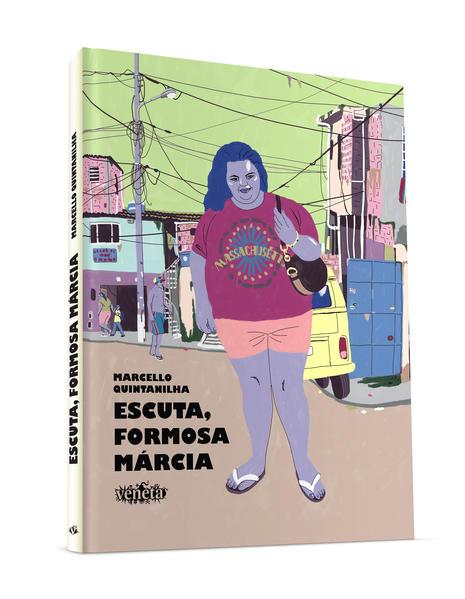 Escuta, Formosa Márcia, livro de Marcello Quintanilha