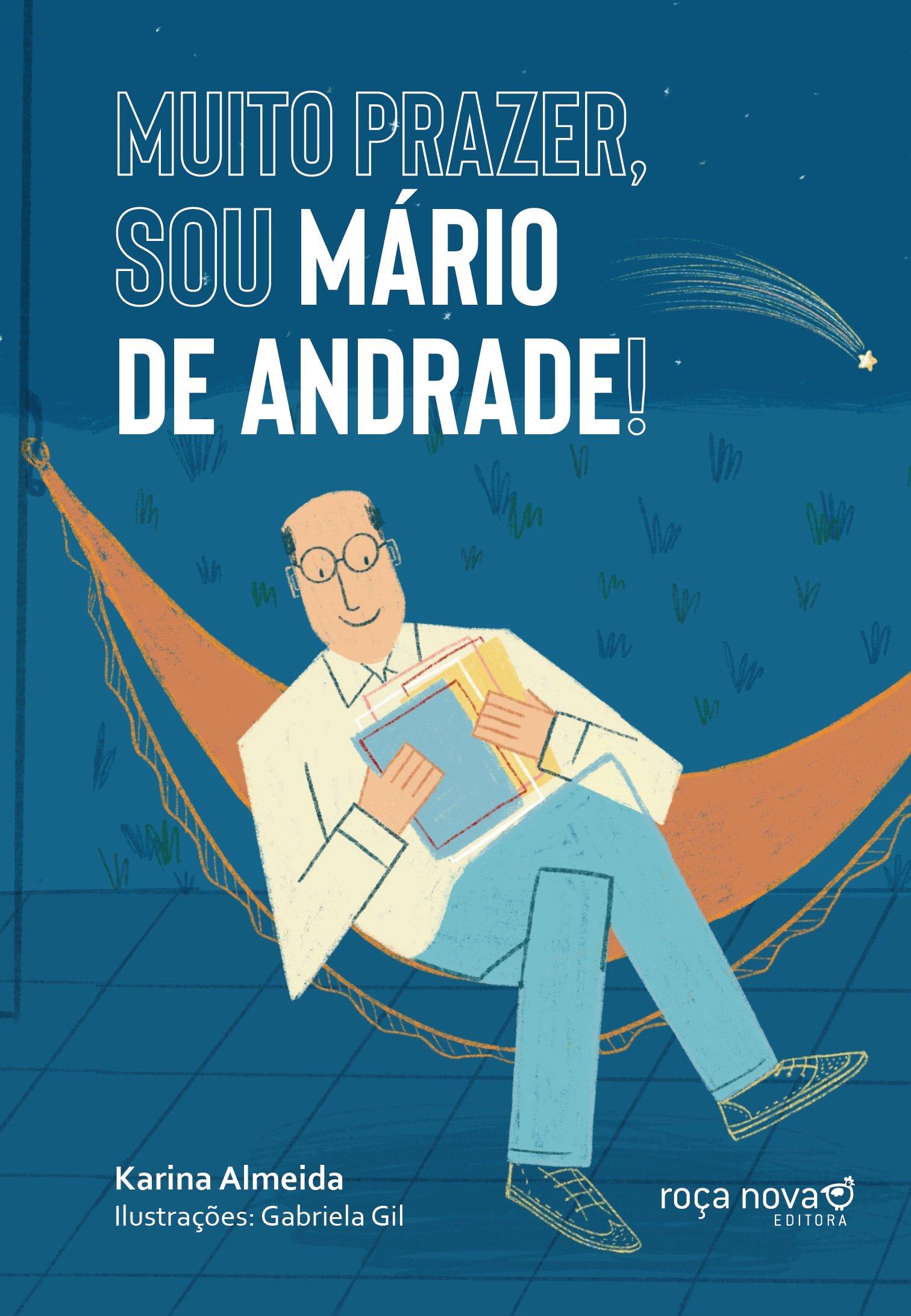 Muito prazer, sou Mário de Andrade!, livro de Karina Almeida
