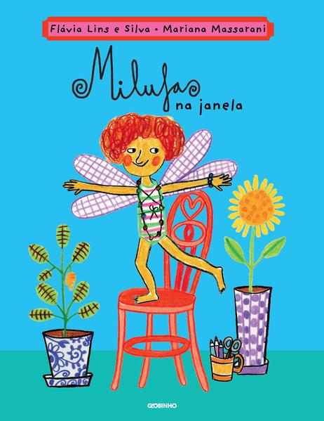 Milufas na janela, livro de Flávia Lins e Silva