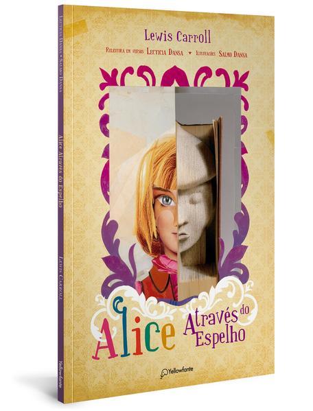 Alice através do espelho, livro de Lecticia Dansa