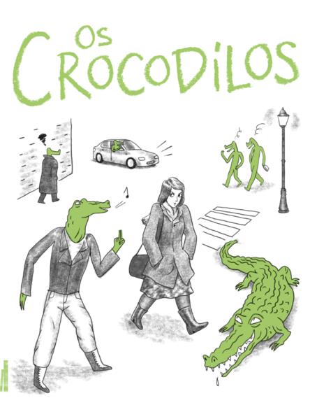 Os crocodilos, livro de Thomas Mathieu