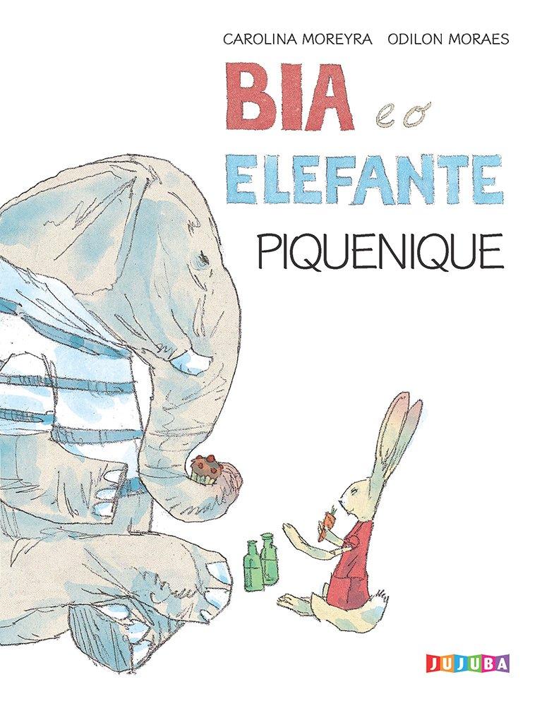 Bia e o elefante. Piquenique, livro de Carolina Moreyra