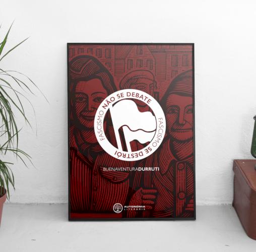 Poster Antifa, livro de