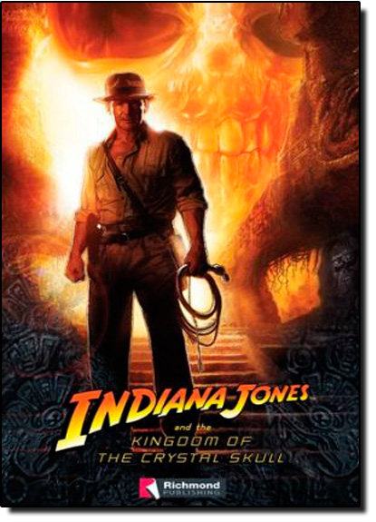 Indiana Jones And The Kingoom Of The Crystal Skull Level 3 + C D, livro de Richmond Readers