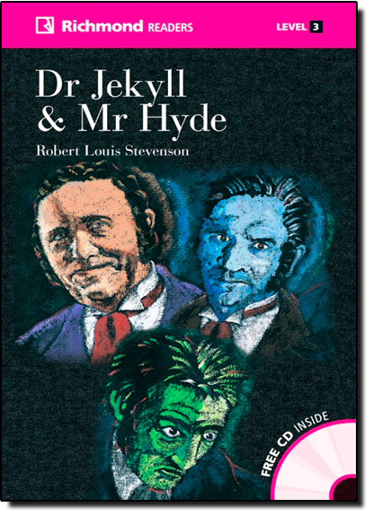Dr Jekyll and Mr Hyde - Coleção Richmond Readers - Inclui Cd-audio, livro de Robert Loiuis Stevenson