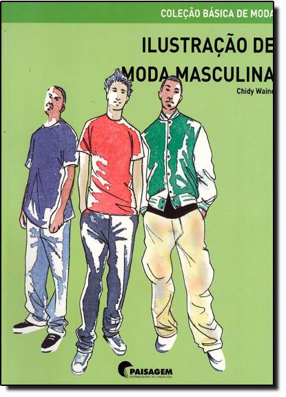 Ilustração de Moda Masculina, livro de Paisagem
