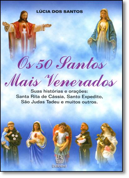 Coleção 50 Oracoes + 50 Santos, livro de Lúcia dos Santos
