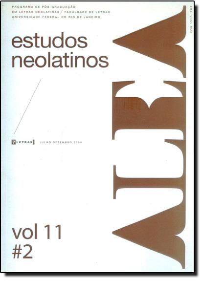 Alea - Estudos Neolatinos - Vol.11 - N.2, livro de Aloísio Leoni Schamid
