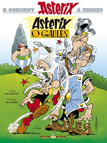 Asterix, o gaulês (Nº 1), livro de Albert Uderzo e René Goscinny