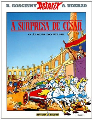 A surpresa de César (álbum do filme), livro de Albert Uderzo e René Goscinny