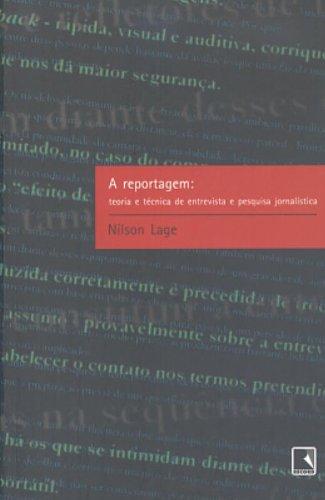 A REPORTAGEM, livro de Nilson Lage
