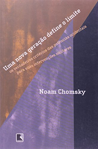 Uma nova geração define o limite, livro de Noam Chomsky