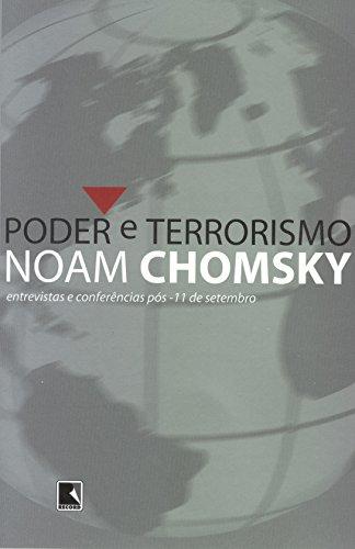 PODER E TERRORISMO, livro de Noam Chomsky