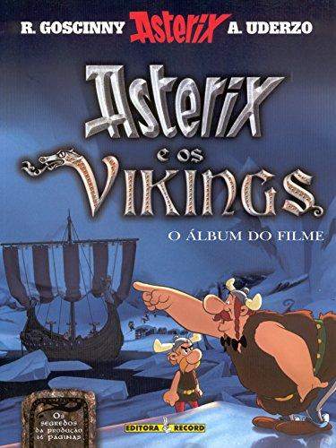 Asterix e os vikings  (álbum do filme), livro de Albert Uderzo e René Goscinny