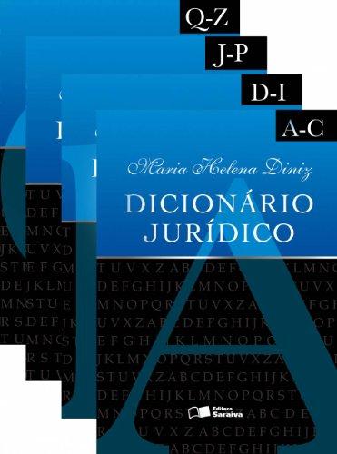DICIONARIO JURIDICO - DINIZ - 4 VOLS.  - 3 ED., livro de DINIZ, MARIA HELENA