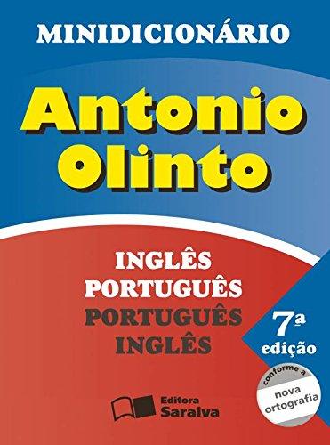 Minidicionário: Antonio Olinto: Inglês - Português, Português Inglês, livro de Antonio Olinto