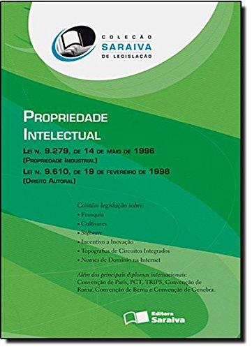 Propriedade Intelectual, livro de Editora Saraiva