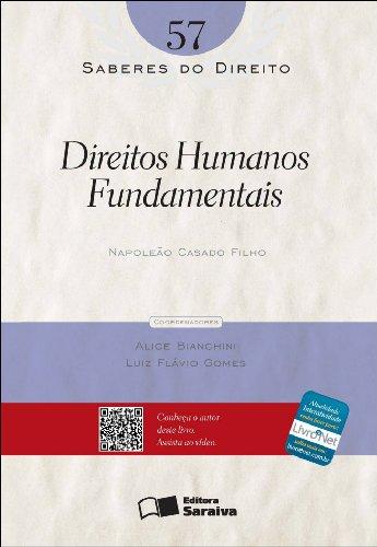 SABERES DO DIREITO - DIREITOS HUMANOS FUNDAMENTAIS VOL. 57, livro de FILHO, NAPOLEAO CASADO
