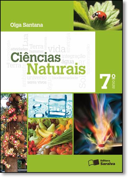 Ciências Naturais - 7º Ano, livro de Olga Santana