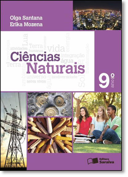 Ciências Naturais - 9º Ano, livro de Olga Santana