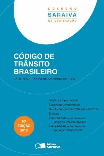 Código de Trânsito Brasileiro, livro de Editora Saraiva