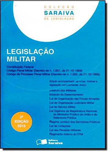 Legislação Militar - Coleção Saraiva de Legislação, livro de Editora Saraiva