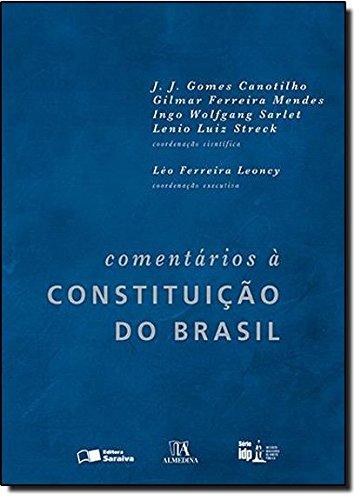 Comentários À Constituição do Brasil - Série I D P, livro de J. J. Gomes Canotilho