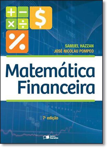 Matemática Financeira, livro de Samuel Hazzan