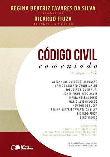 Código Civil Comentado, livro de Regina Beatriz Tavares da Silva