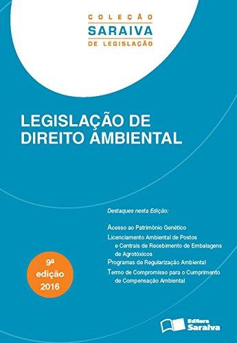 Legislação de Direito Ambiental, livro de Editora Saraiva