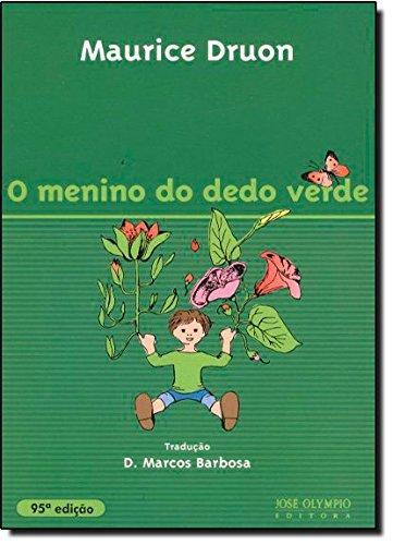 O Menino do Dedo Verde, livro de Maurice Druon