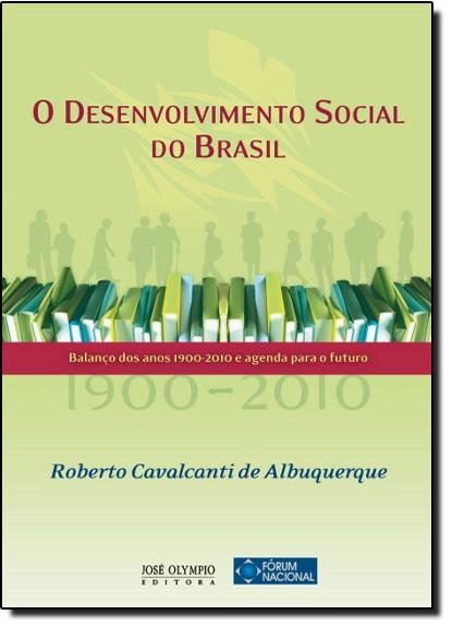 Desenvolvimento Social do Brasil, O, livro de Roberto Cavalcanti de Albuquerque