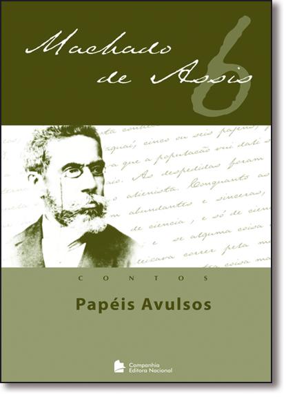 PAPEIS AVULSOS, livro de Machado Assis