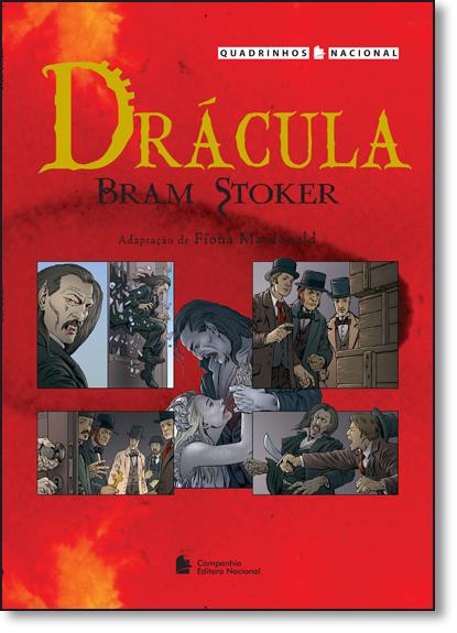 Drácula - Coleção Quadrinhos Nacional, livro de Bram Stoker