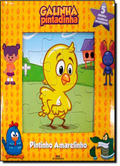Pintinho Amarelinho: Meu Primeiro Livro Quebra-cabeças, livro de André Guilherme Polito