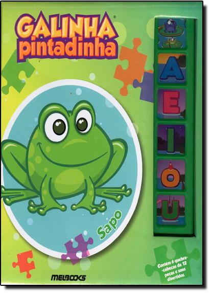 Sapo - Coleção Galinha Pintadinha, livro de Editora Mel Books