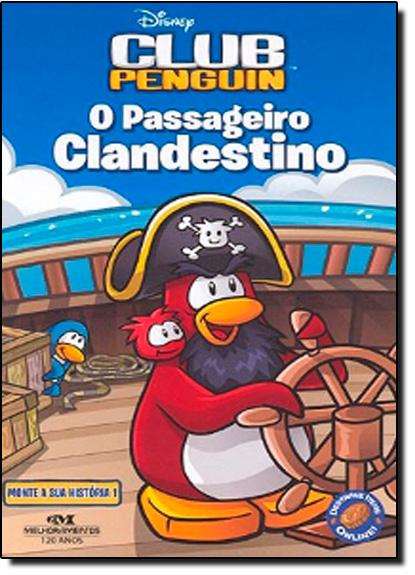 Club Penguin: Passageiro Clandestino, livro de Disney