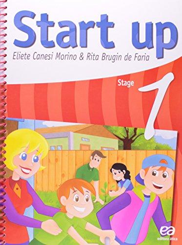 Start Up - Stage 1, livro de Rita Brugin de Faria