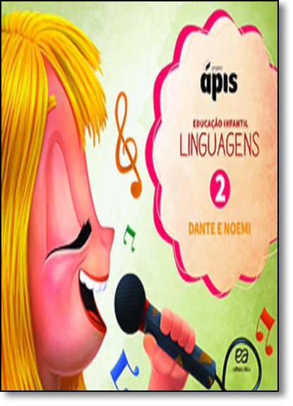 Linguaguem: Projeto Ápis - Vol.2, livro de Luiz Roberto Dante