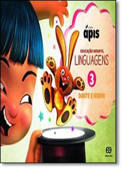 Linguaguem: Projeto Ápis - Vol.3, livro de Luiz Roberto Dante