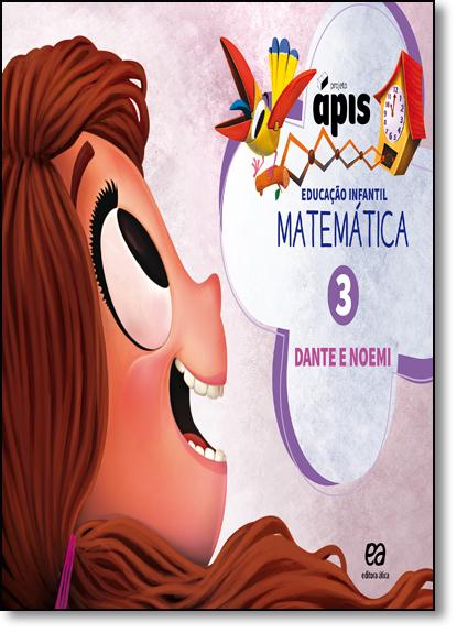 Matemática - Vol.3 - Projeto Ápis, livro de Luiz Roberto Dante