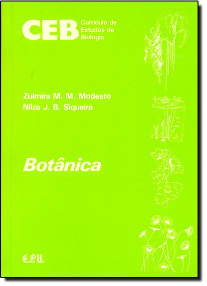 Botânica, livro de Zulmira M. M. Modesto