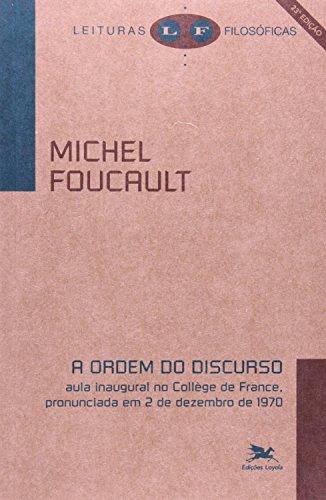 Ordem do discurso (A), livro de Michel Foucault