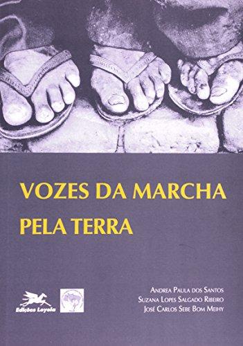 Vozes da marcha pela terra, livro de Andrea Paula Dos Santos