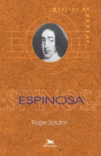 Espinosa, livro de Roger Scruton