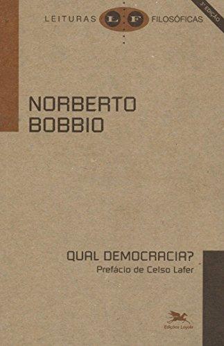 Qual democracia?, livro de Norberto Bobbio