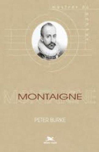 Montaigne, livro de Peter Burke