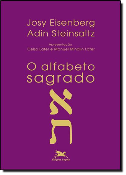 Alfabeto Sagrado, O, livro de Josy Eisenberg