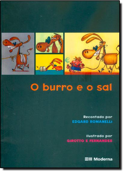 Burro e o Sal, O, livro de Edgard Romanelli